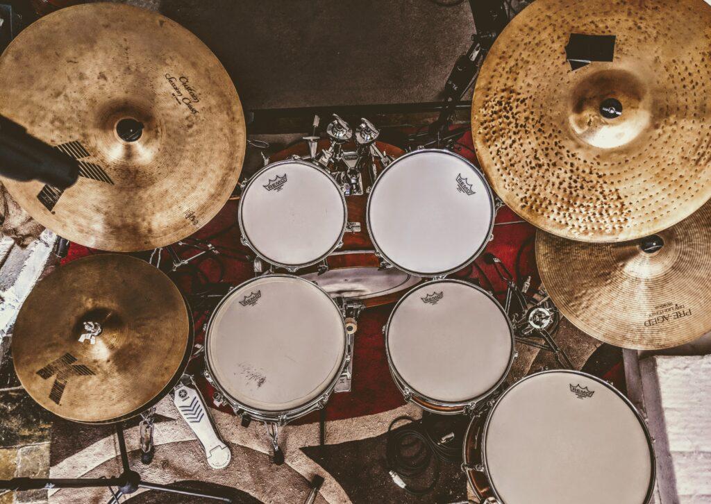 Yamaha Drums in Studio